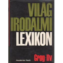 Világirodalmi lexikon IV. kötet