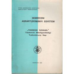 Tessedik Sámuel Tiszántúli Mezőgazdasági Tudományos Nap 1982