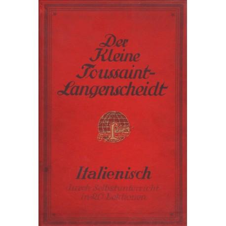 Der KleineI Toussaint-Langescheidt Italienisch (gótbetűs)