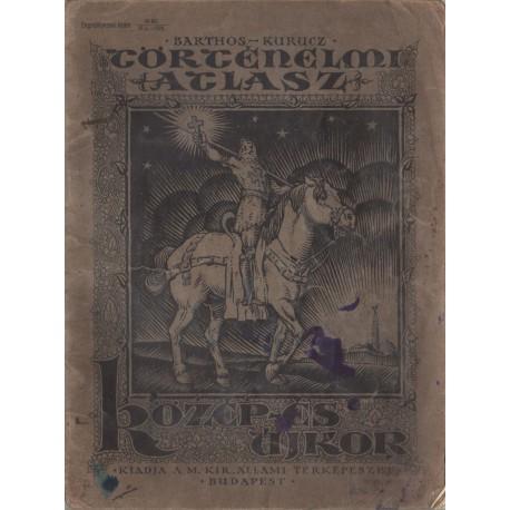 Történelmi atlasz - Közép- és újkor (1928)