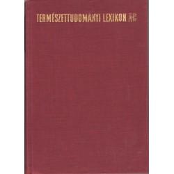 Természettudományi lexikon 1-6. kötet