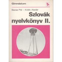 Szlovák nyelvkönyv II.