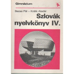 Szlovák nyelvkönyv IV.