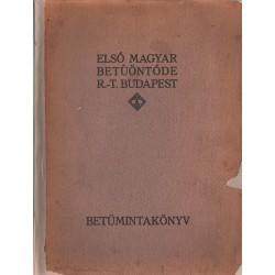 Betűmintakönyv