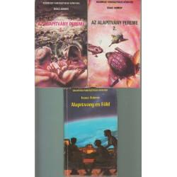 Isaac Asimov könyvei (3 db)