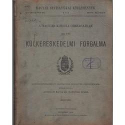 A Magyar Korona Országainak 1895. évi külkereskedelmi forgalma