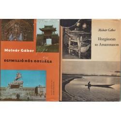 Molnár Gábor vadászkönyvei (10 db)