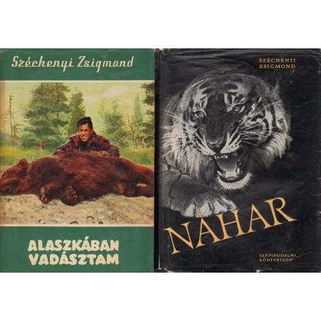 Széchenyi Zsigmond vadászkönyvei (6 db)
