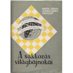A sakkozás világbajnokai