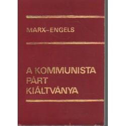 A Kommunista Párt Kiáltványa