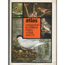 Atlas hnízdního rozsirení ptáku v CSSR 1973-1977