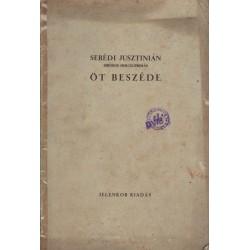 Serédi Jusztinián öt beszéde