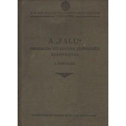 """A """"Falu"""" Országos Földmíves Szövetség kiadványai I. sorozat (12 mű egyben)"""