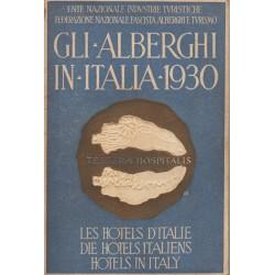 Gli Alberghi in Italia 1930