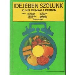 Kertészeti szakkönyvek (4 db)