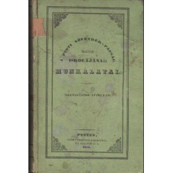 A pesti növendék papság magyar iskolájának munkálatai XI. évfolyam