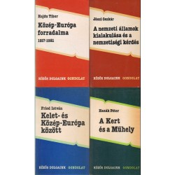 Történelmi könyvek (8db)