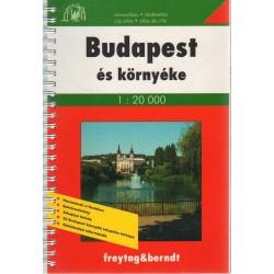 Budapest és környéke (1:20 000)