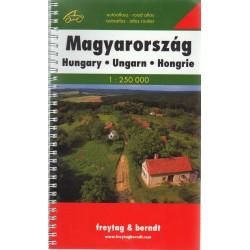Magyarország autóatlasz (1:250 000)