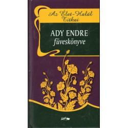 Ady Endre füveskönyve