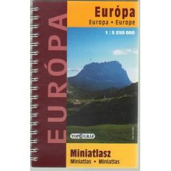 Európa miniatlasz (1:5 250 000)