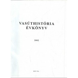 Vasúthistória évkönyv 2002 (dedikált)