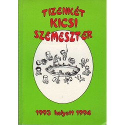 Tizenkét kicsi szemeszter - SZOTE évkönyv 1994