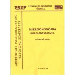 Mikroökonómia - Közgazdaságtan I.