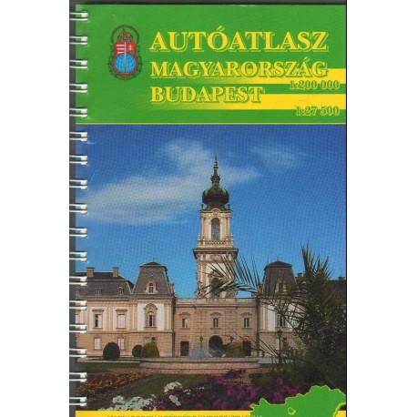 Autóatlasz Magyarország (1:200 000) Budapest (1:27 500)