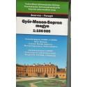 Győr-Moson-Sopron megye (1:100 000)