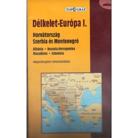 Délkelet-Európa I. autóstérkép (1:850 000)