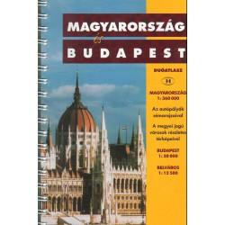 Magyarország és Budapest duóatlasz