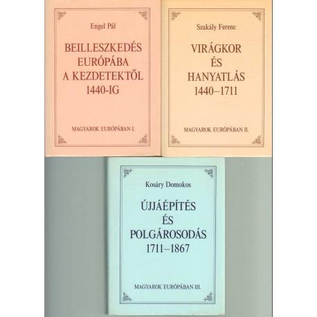 Magyarok Európában I-III. kötet