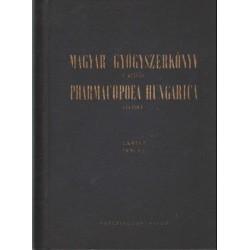Magyar gyógyszerkönyv I-III. (1954)