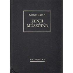Zenei műszótár (reprint) (1990)