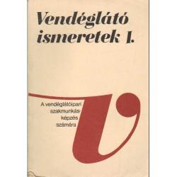 Vendéglátó ismeretek I-III. kötet
