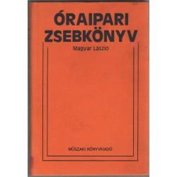 Óraipari zsebkönyv