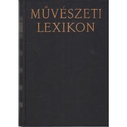 Művészeti lexikon I-IV. (1965)