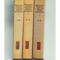 Zenei lexikon I-III. (teljes)