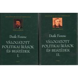 Válogatott politikai írások és beszédek I-II.