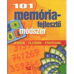 101 memóriafejlesztő módszer
