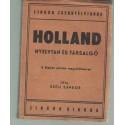 Holland nyelvtan és társalgó