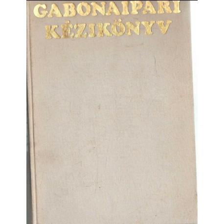 Gabonaipari kézikönyv