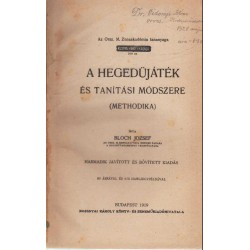 A hegedüjáték és tanítási módszere (Methodika)