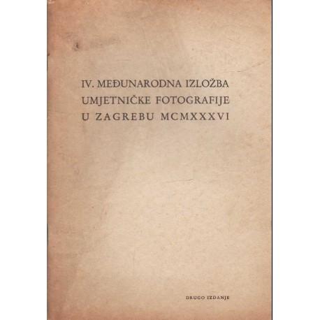 Katalog IV. Medunarodne Izlozbe Umjetnicke fotografije (1936)