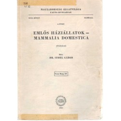 Emlős háziállatok - Mammalia Domestica
