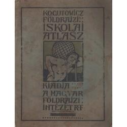 Kogutowicz Manó földrajzi iskolai atlasza
