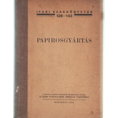 Papirosgyártás