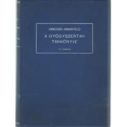 A gyógyszertan tankönyve