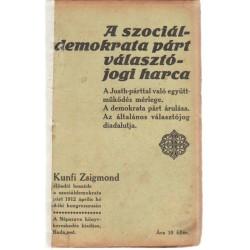A szociáldemokrata párt választójogi harca (1912)